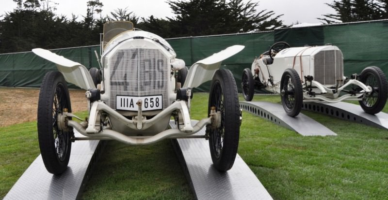 Car-Revs-Daily.com 1914 Mercedes-Benz French Grand Prix Cars 6