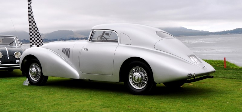 Car-Revs-Daily.com 1938 Mercedes-Benz 540K Streamliner is One-Off Coupe With Wrap-Around Glass and Aero-Smooth Design 1