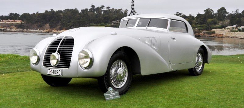 Car-Revs-Daily.com 1938 Mercedes-Benz 540K Streamliner is One-Off Coupe With Wrap-Around Glass and Aero-Smooth Design 12