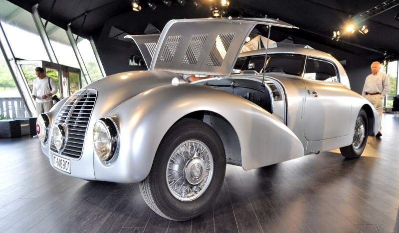 Car-Revs-Daily.com 1938 Mercedes-Benz 540K Streamliner is One-Off Coupe With Wrap-Around Glass and Aero-Smooth Design 16