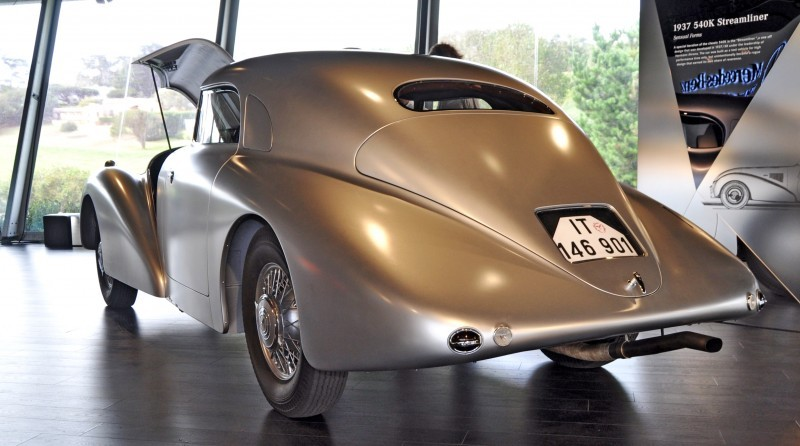 Car-Revs-Daily.com 1938 Mercedes-Benz 540K Streamliner is One-Off Coupe With Wrap-Around Glass and Aero-Smooth Design 18