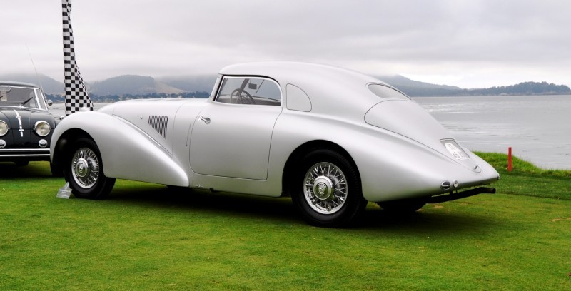 Car-Revs-Daily.com 1938 Mercedes-Benz 540K Streamliner is One-Off Coupe With Wrap-Around Glass and Aero-Smooth Design 2
