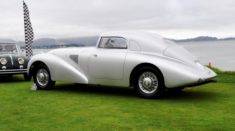 Car-Revs-Daily.com 1938 Mercedes-Benz 540K Streamliner is One-Off Coupe With Wrap-Around Glass and Aero-Smooth Design 3