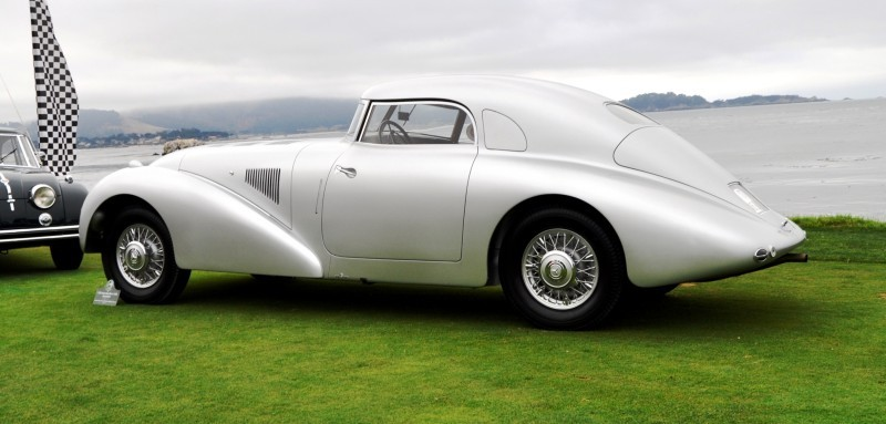 Car-Revs-Daily.com 1938 Mercedes-Benz 540K Streamliner is One-Off Coupe With Wrap-Around Glass and Aero-Smooth Design 4
