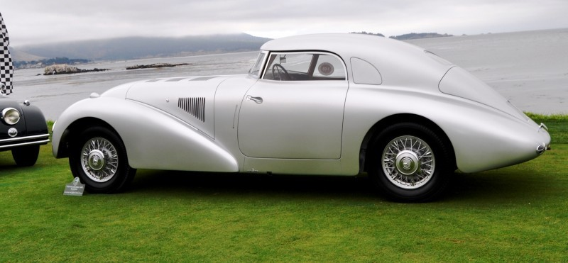 Car-Revs-Daily.com 1938 Mercedes-Benz 540K Streamliner is One-Off Coupe With Wrap-Around Glass and Aero-Smooth Design 6
