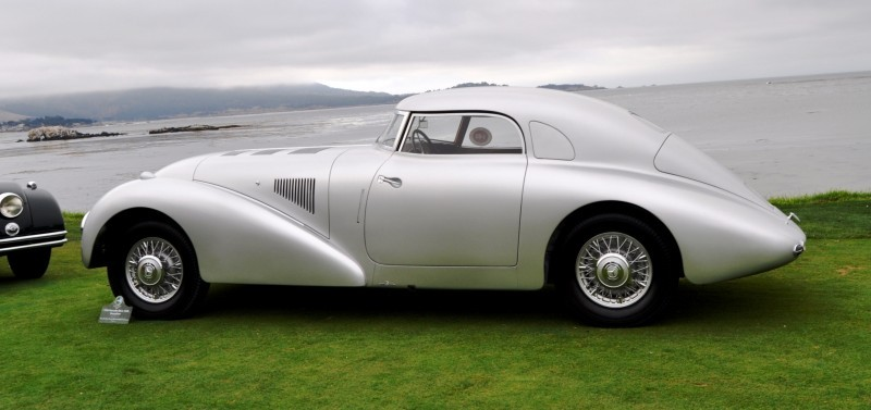 Car-Revs-Daily.com 1938 Mercedes-Benz 540K Streamliner is One-Off Coupe With Wrap-Around Glass and Aero-Smooth Design 7