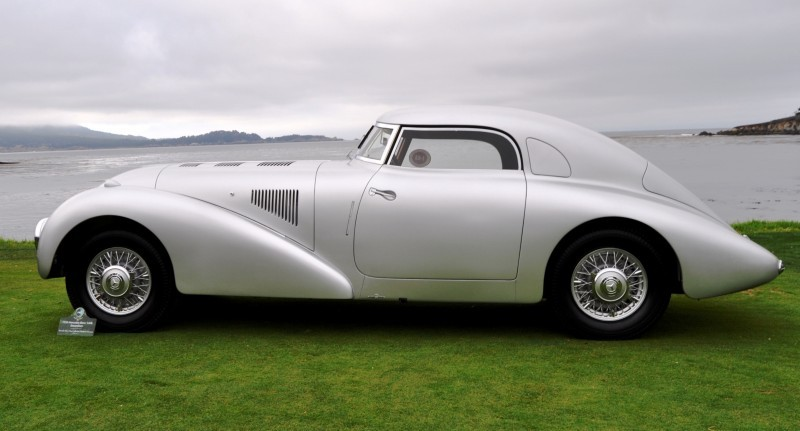 Car-Revs-Daily.com 1938 Mercedes-Benz 540K Streamliner is One-Off Coupe With Wrap-Around Glass and Aero-Smooth Design 8