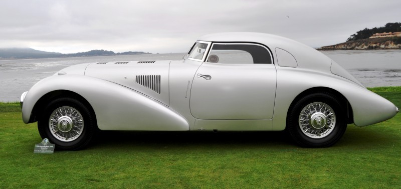 Car-Revs-Daily.com 1938 Mercedes-Benz 540K Streamliner is One-Off Coupe With Wrap-Around Glass and Aero-Smooth Design 9