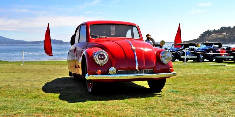 Car-Revs-Daily.com 1938 Tatra T97 Aerodynamic Sedan at Pebble Beach 2014 Concours 19