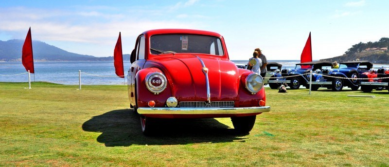 Car-Revs-Daily.com 1938 Tatra T97 Aerodynamic Sedan at Pebble Beach 2014 Concours 20
