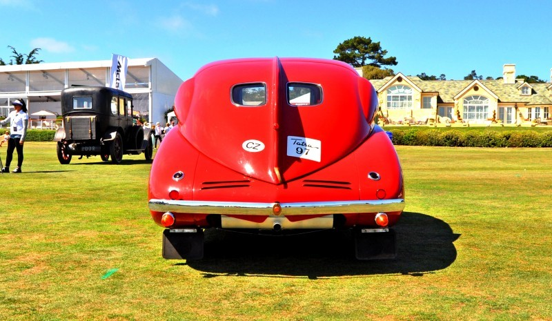 Car-Revs-Daily.com 1938 Tatra T97 Aerodynamic Sedan at Pebble Beach 2014 Concours 23