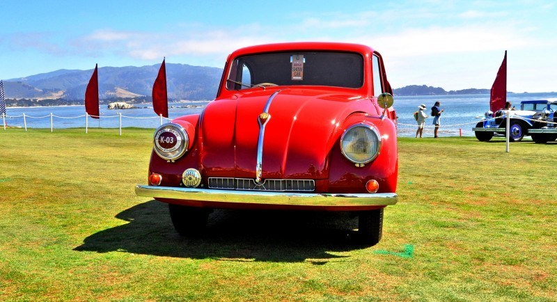 Car-Revs-Daily.com 1938 Tatra T97 Aerodynamic Sedan at Pebble Beach 2014 Concours 55