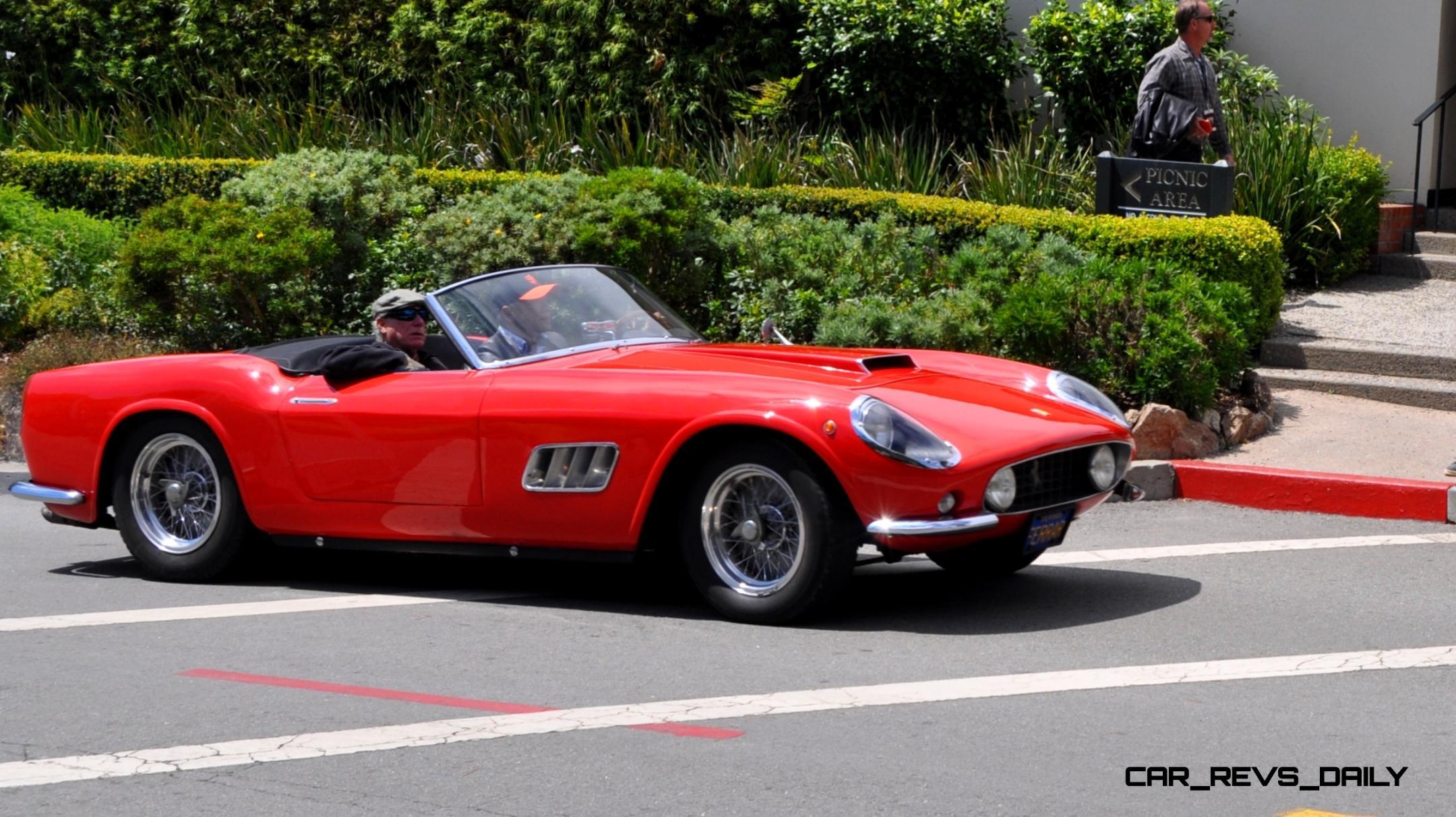 1961 Ferrari 250gt Lwb California Spider Gif