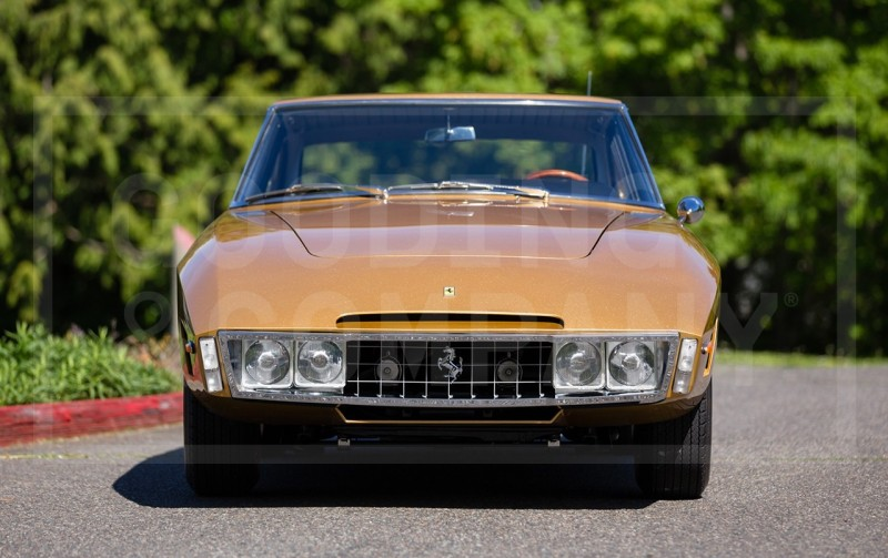 Car-Revs-Daily.com 1966 Ferrari 330GT Speciale Is Trippy 1960s One-Off Ferrari Musclecar 4