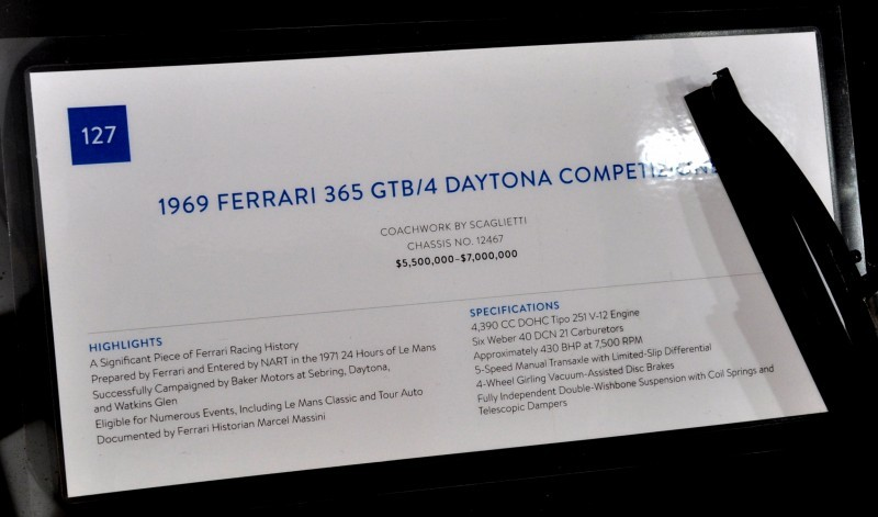 Car-Revs-Daily.com 1969 Ferrari 365 GTB4 Daytona Competizione 29