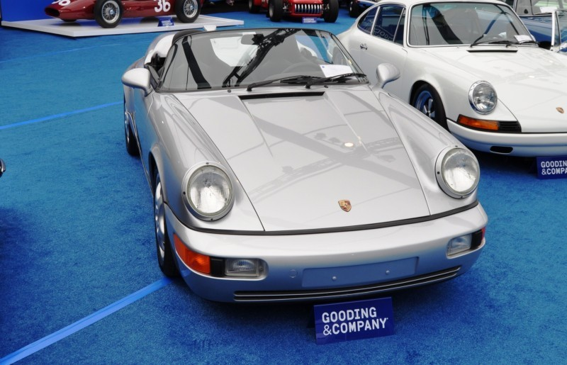 Update1 - Gooding Pebble Beach 2014 - 1994 Porsche 911 Carrera 3.6 Speedster Update1 - Gooding Pebble Beach 2014 - 1994 Porsche 911 Carrera 3.6 Speedster