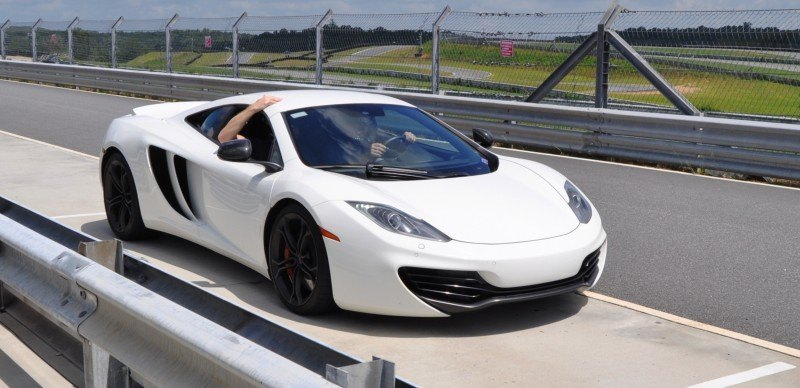 Car-Revs-Daily.com 2013 McLaren 12C at Velocity Motorsports in Atlanta 40