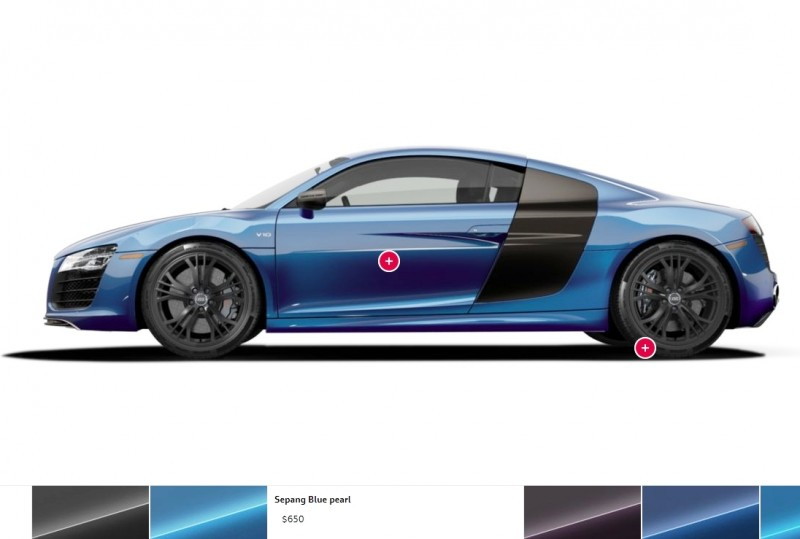 Car-Revs-Daily.com 2014 AUDI R8 V10 Plus in Sepang Matte Metallic Blue 103