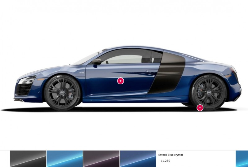 Car-Revs-Daily.com 2014 AUDI R8 V10 Plus in Sepang Matte Metallic Blue 104