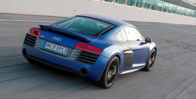 Car-Revs-Daily.com 2014 AUDI R8 V10 Plus in Sepang Matte Metallic Blue 14
