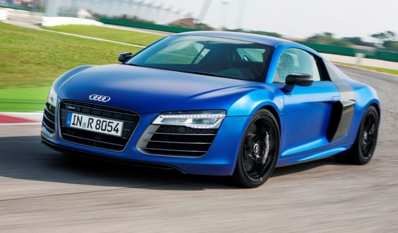 Car-Revs-Daily.com 2014 AUDI R8 V10 Plus in Sepang Matte Metallic Blue 39
