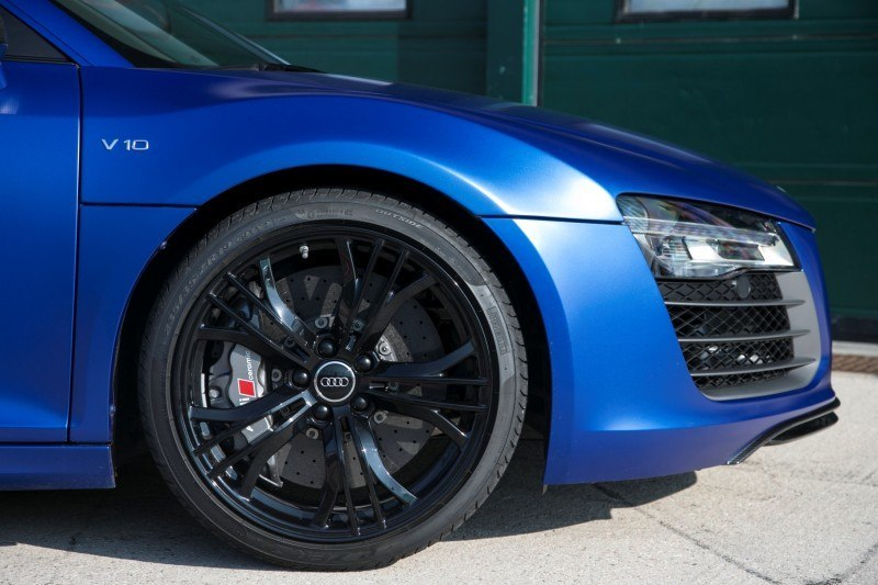 Car-Revs-Daily.com 2014 AUDI R8 V10 Plus in Sepang Matte Metallic Blue 41