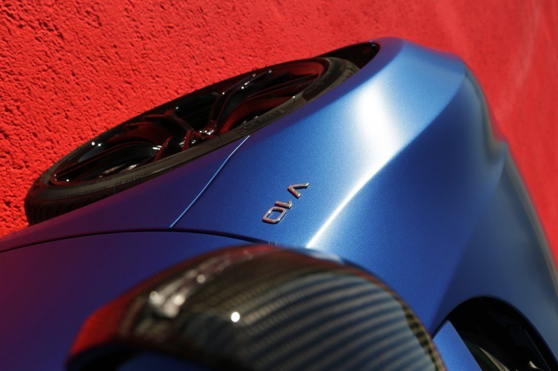 Car-Revs-Daily.com 2014 AUDI R8 V10 Plus in Sepang Matte Metallic Blue 45