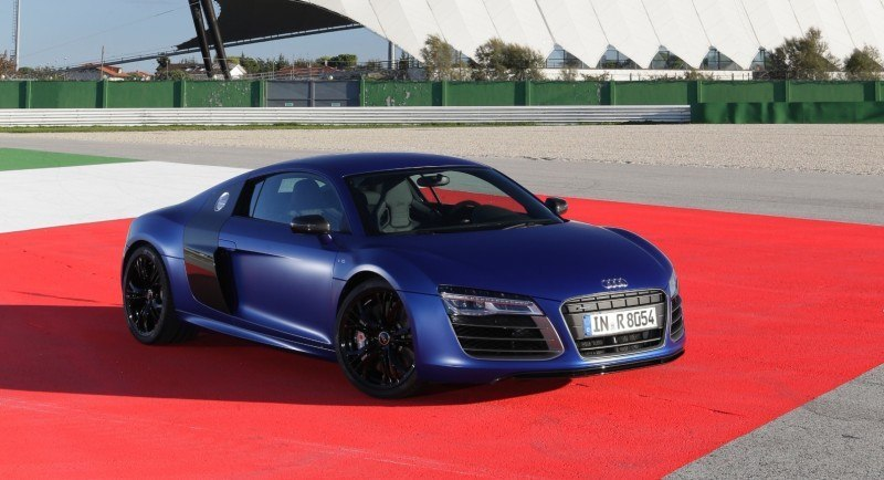 Car-Revs-Daily.com 2014 AUDI R8 V10 Plus in Sepang Matte Metallic Blue 50