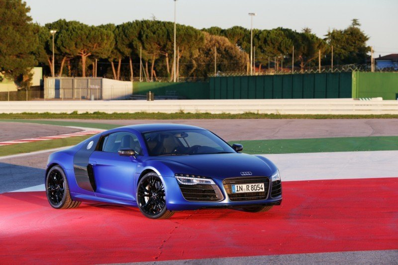 Car-Revs-Daily.com 2014 AUDI R8 V10 Plus in Sepang Matte Metallic Blue 69