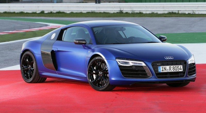 Car-Revs-Daily.com 2014 AUDI R8 V10 Plus in Sepang Matte Metallic Blue 70