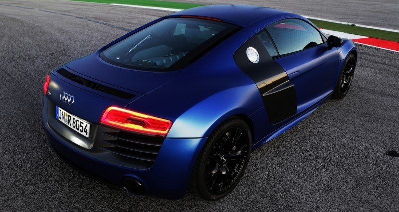 Car-Revs-Daily.com 2014 AUDI R8 V10 Plus in Sepang Matte Metallic Blue 77