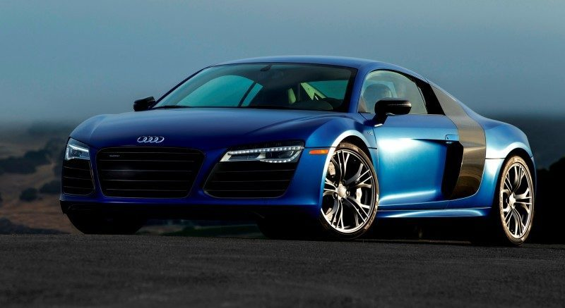 Car-Revs-Daily.com 2014 AUDI R8 V10 Plus in Sepang Matte Metallic Blue 78