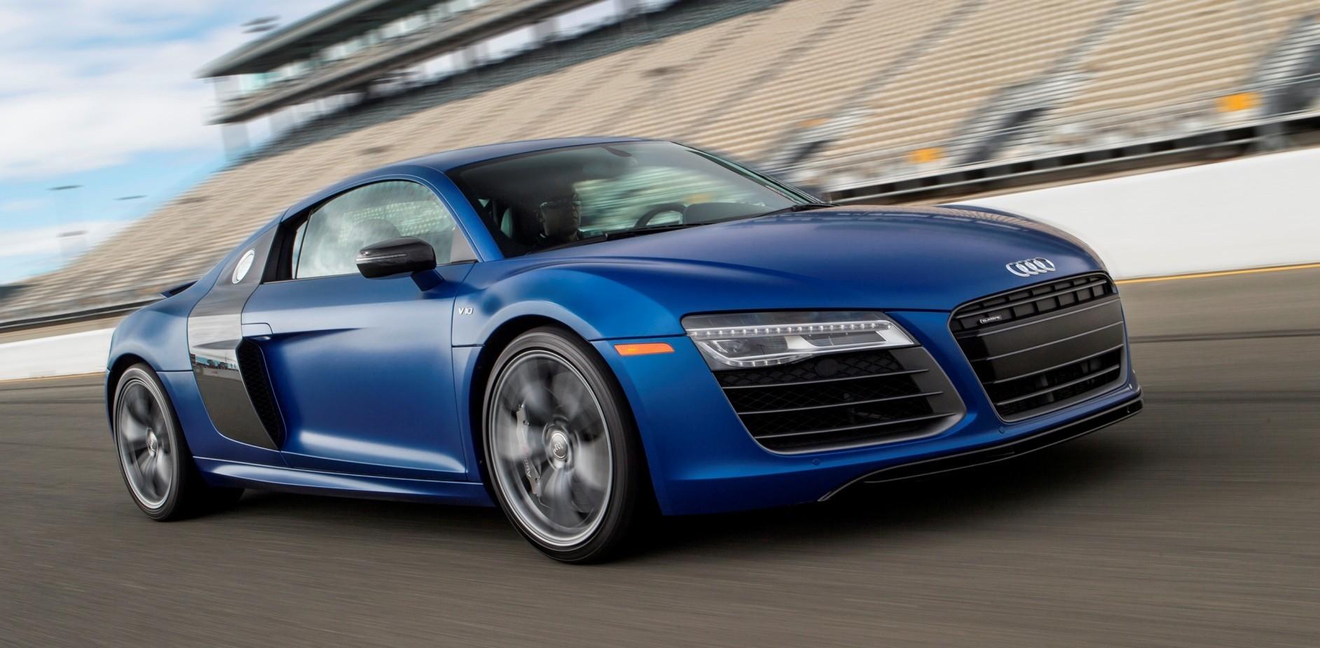 Car Revs Daily.com 2014 AUDI R8 V10 Plus In Sepang Matte Metallic Blue 82