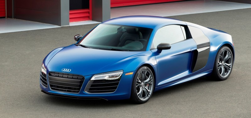 Car-Revs-Daily.com 2014 AUDI R8 V10 Plus in Sepang Matte Metallic Blue 88