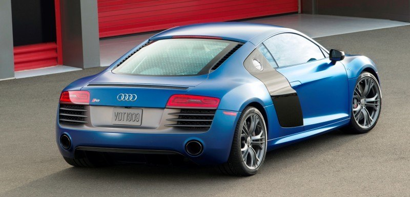 Car-Revs-Daily.com 2014 AUDI R8 V10 Plus in Sepang Matte Metallic Blue 89