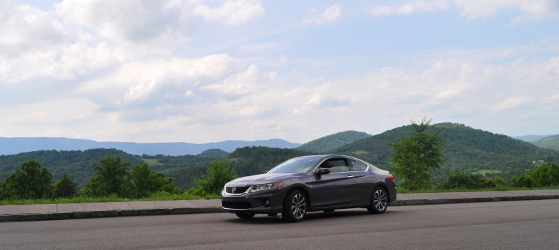 Car-Revs-Daily.com 2014 Accord Coupe EX-L V6 Navi at Blue Ridge Parkway 1