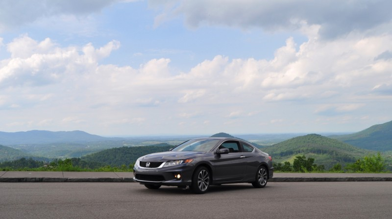 Car-Revs-Daily.com 2014 Accord Coupe EX-L V6 Navi at Blue Ridge Parkway 205