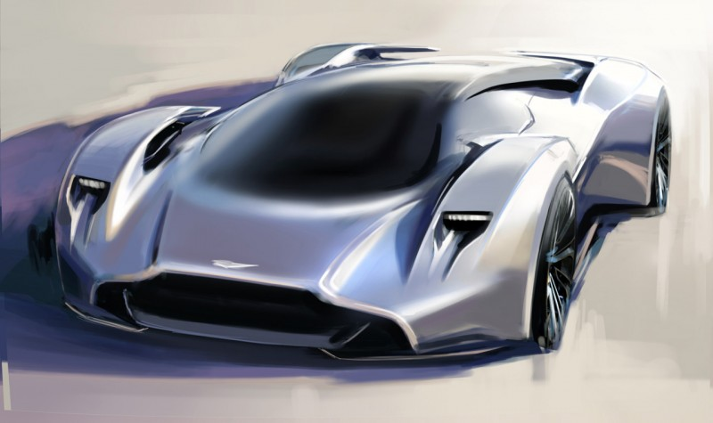 Car-Revs-Daily.com 2014 Aston Martin DP-100 Vision Gran Turismo Is Mid-Engine Hypercar 101