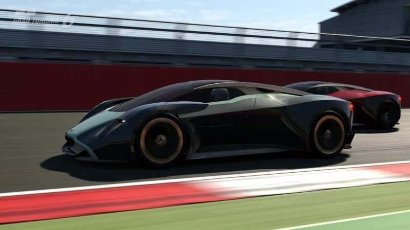 Car-Revs-Daily.com 2014 Aston Martin DP-100 Vision Gran Turismo Is Mid-Engine Hypercar 90