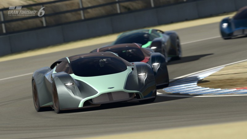 Car-Revs-Daily.com 2014 Aston Martin DP-100 Vision Gran Turismo Is Mid-Engine Hypercar 91