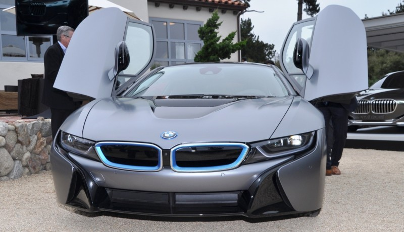 Car-Revs-Daily.com 2014 BMW i8 Pebble Beach Concours d'Elegance Edition 11