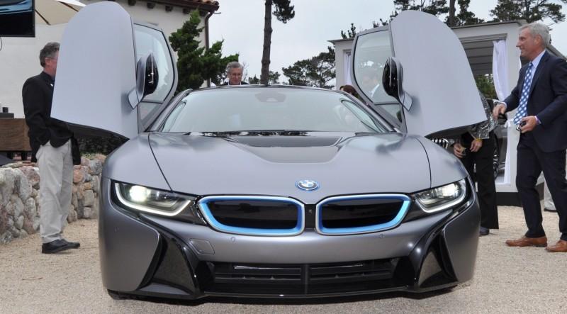 Car-Revs-Daily.com 2014 BMW i8 Pebble Beach Concours d'Elegance Edition 13