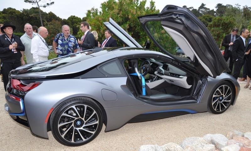 Car-Revs-Daily.com 2014 BMW i8 Pebble Beach Concours d'Elegance Edition 18