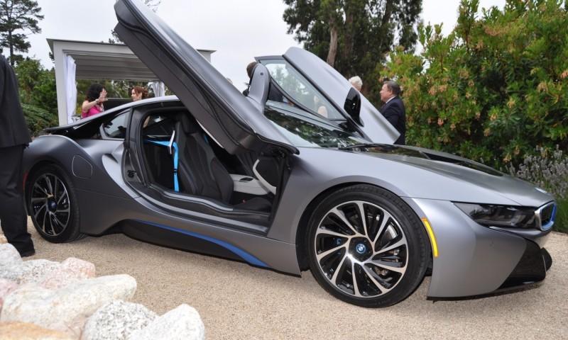 Car-Revs-Daily.com 2014 BMW i8 Pebble Beach Concours d'Elegance Edition 22