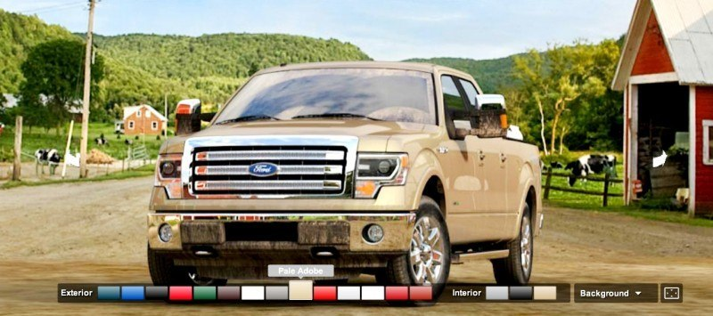 Car-Revs-Daily.com 2014 FORD F-150 COLORS 18