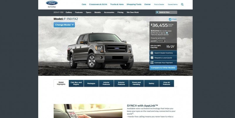 Car-Revs-Daily.com 2014 FORD F-150 COLORS 2