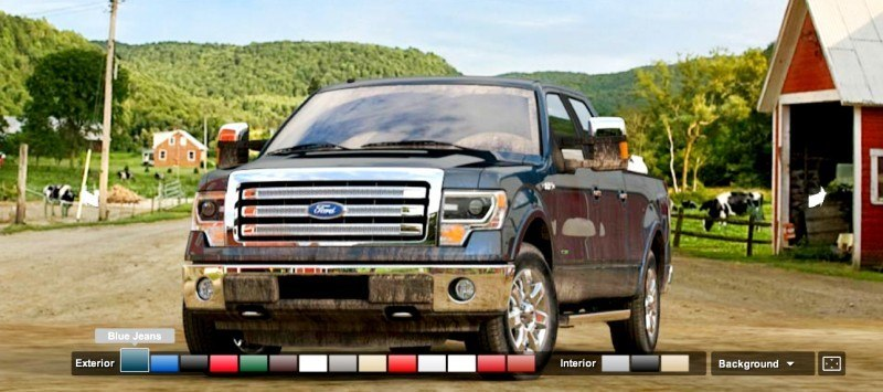 Car-Revs-Daily.com 2014 FORD F-150 COLORS 24
