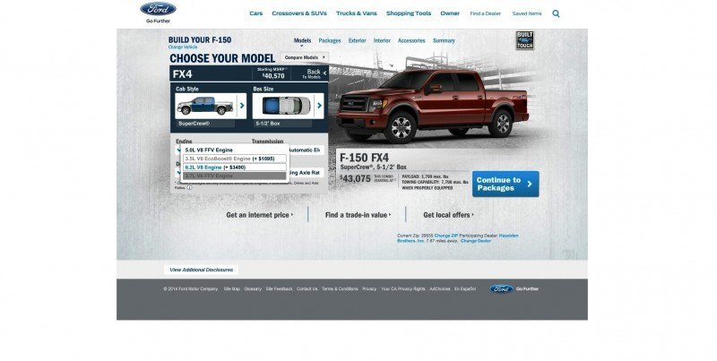 Car-Revs-Daily.com 2014 FORD F-150 COLORS 3