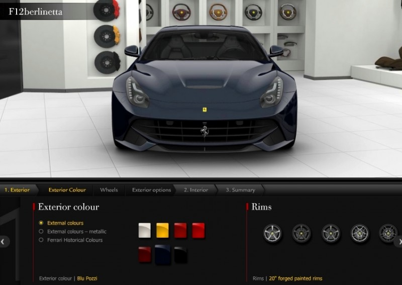Car-Revs-Daily.com 2014 Ferrari F12 Colors and High-Res Photo Gallery 10