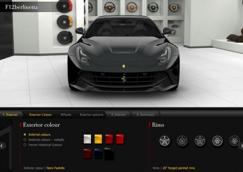 Car-Revs-Daily.com 2014 Ferrari F12 Colors and High-Res Photo Gallery 11
